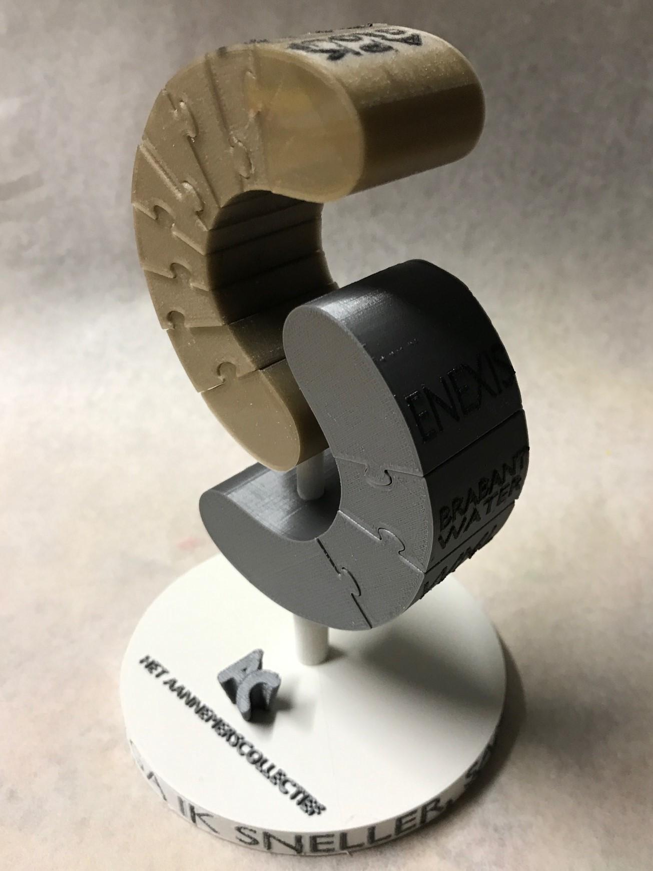 deMINIfabriek 3D print FDM Puzzel Award