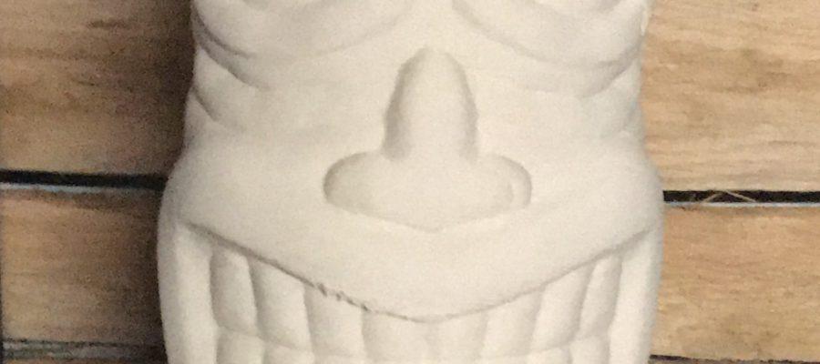 Tiki beeld (porselein)