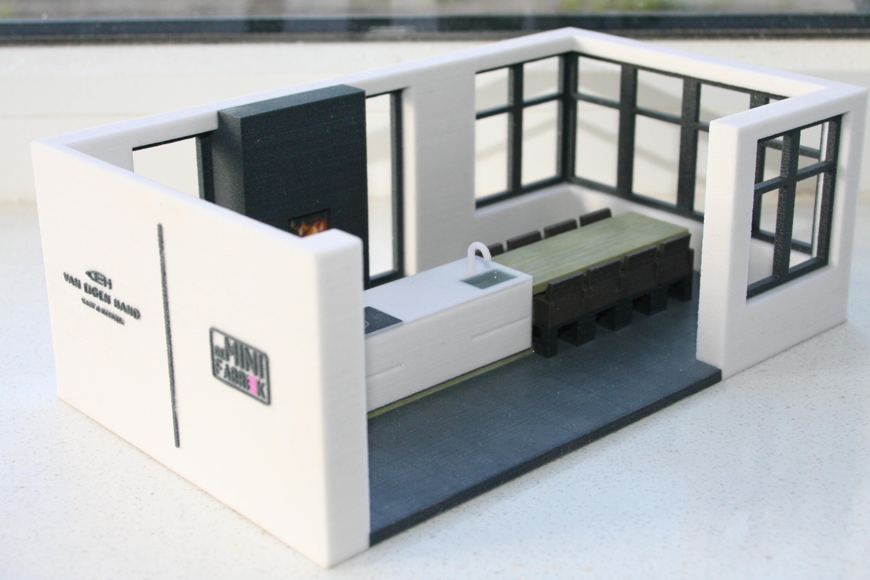 deMINIfabriek 3D print Full color keuken Gerrit Gerritsma VEH