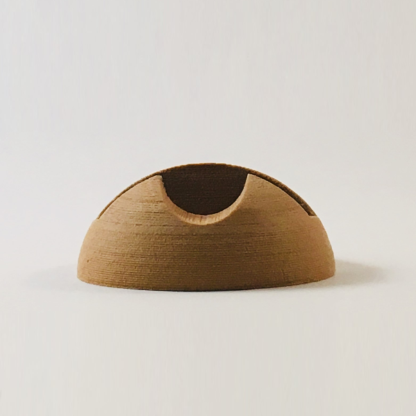 deMINIfabriek 3D print bamboo telefoon houder